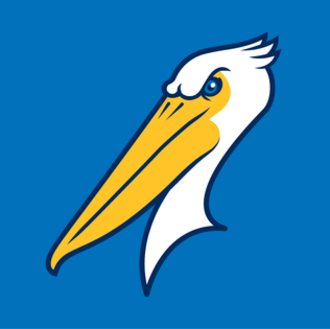 Myrtle Beach Pelicans - Image: MB Pelicans Cap Logo
