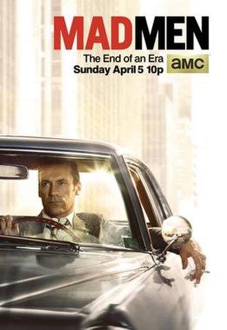Mad Men (season 7) - Image: Mad Men Season 7b Promo Poster