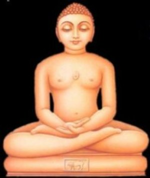 Meditation - Mahavira in meditative posture