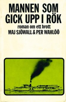 <i>The Man Who Went Up in Smoke</i> novel by Sjöwall and Wahlöö