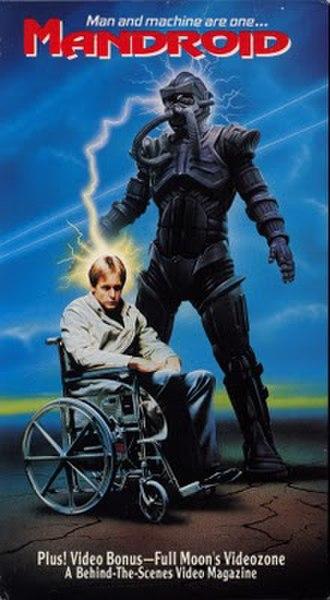 Mandroid (film) - VHS cover art
