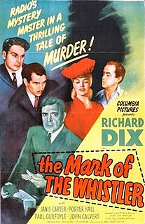 <i>The Mark of the Whistler</i> 1944 film by William Castle