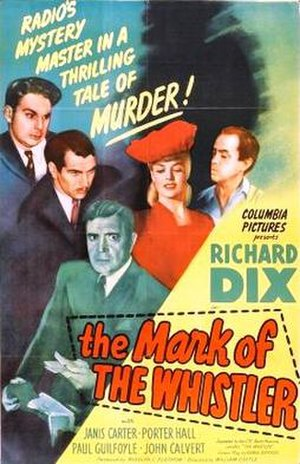 The Mark of the Whistler - Theatrical release poster