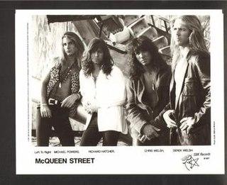 McQueen Street American rock band