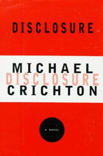 Disclosure (novel) - First edition cover