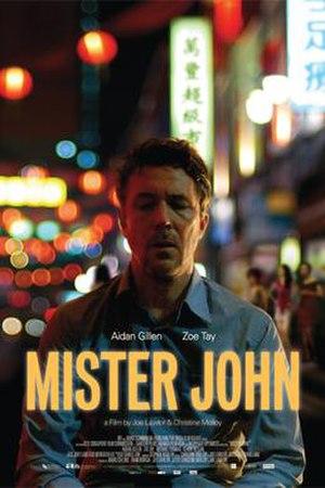 Mister John - Promotional poster