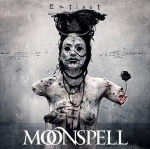 Extinct (album) - Image: Moonspell Extinct (album)