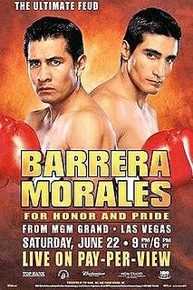 Érik Morales vs. Marco Antonio Barrera II