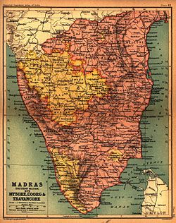 Political history of Mysore and Coorg 15651760  Wikipedia