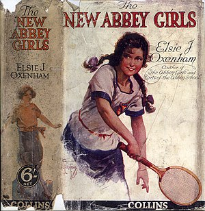 Abbey Series - Dustjacket from The New Abbey Girls.
