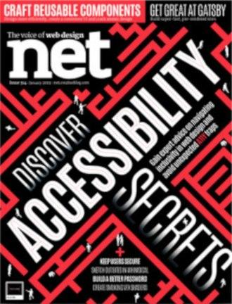 Net (magazine) - Image: Net Magazine January 2019 cover