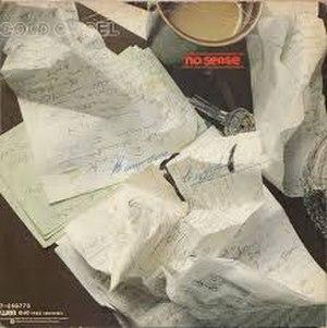 No Sense (Cold Chisel song) - Image: No Sense single