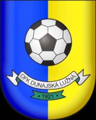 OFK Dunajská Lužná - Image: Ofk dunajska luzna