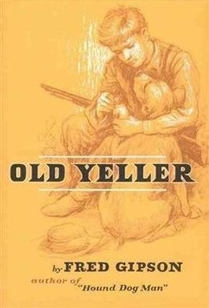Old Yeller - First edition (publ. Harper & Brothers)