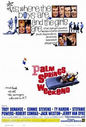 Palm Springs Weekend - Theatrical Poster