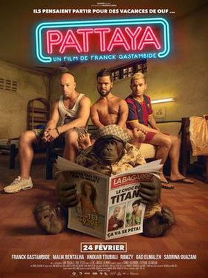 Pattaya (film) - Theatrical release poster