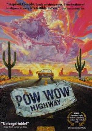 Powwow Highway - DVD cover art