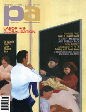 Political Affairs (magazine) - Cover of August 2005 issue of Political Affairs Magazine.