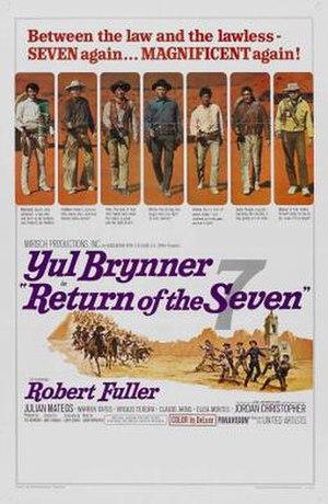 Return of the Seven - US film poster