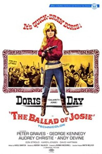 The Ballad of Josie - Theatrical release poster