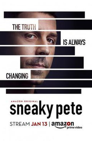 Sneaky Pete - Image: Promotional Poster for Sneaky Pete