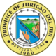 Official seal of Surigao del Sur