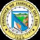 Official seal of Surigao del Sur
