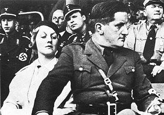 Ernst Hanfstaengl - Hanfstaengl with Diana Mitford at a 1934 Nuremberg rally.