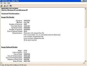 QuickView - Image: Quickview windows 98