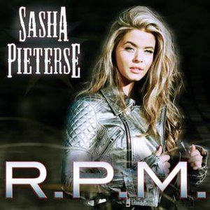 RPM (Sasha Pieterse song) - Image: R.P.M Cover