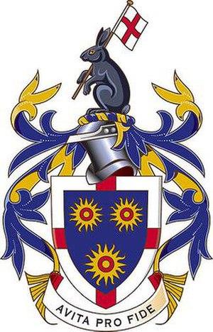 St Edmund's College, Ware - Image: RGB CREST COLOUR