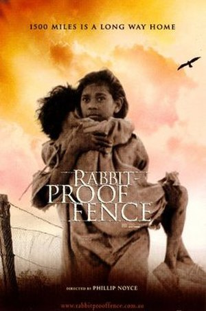 Rabbit-Proof Fence (film) - Theatrical release poster