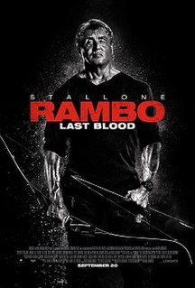 <i>Rambo: Last Blood</i> 2019 film directed by Adrian Grunberg