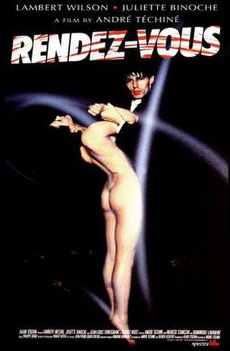 Rendez-vous (1985 film) - Theatrical release poster
