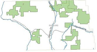 Richford, New York - State Forests in Richford