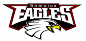 Romulus Senior High School - Image: Romulus High School logo