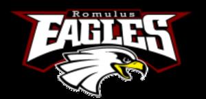 Romulus Senior High School - Image: Romulus High School logo