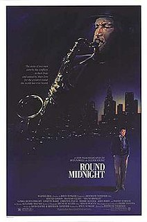 <i>Round Midnight</i> (film) 1986 film by Bertrand Tavernier