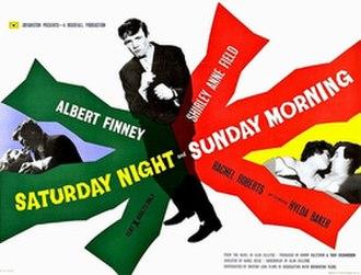 Saturday Night and Sunday Morning (film) - Original British quad format cinema poster