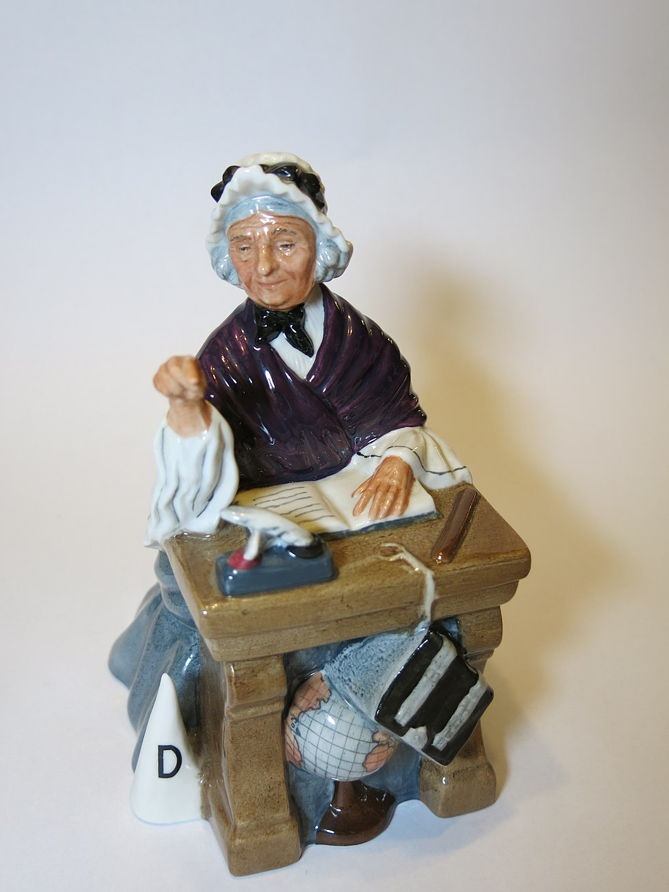 Schoolmarm, a figurine by Royal Doulton