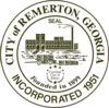 Official seal of Remerton, Georgia, USA