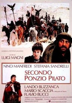 Secondo Ponzio Pilato - Image: Secondo Ponzio Pilato