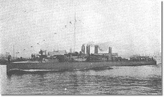 Greek destroyer <i>Sfendoni</i> (1907)