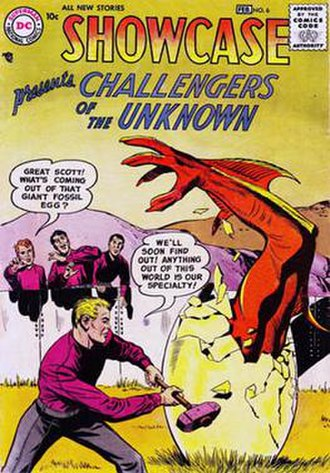 Challengers of the Unknown - Image: Showcase 006