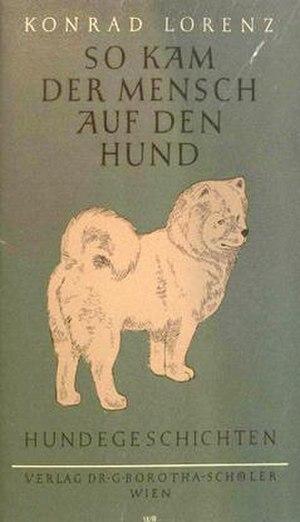 Man Meets Dog - First edition (publ. Verlag G. Borotha-Schoeler)