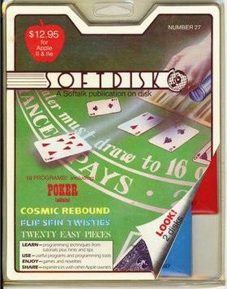 Softdisk (disk magazine) - Image: Softdisk 27