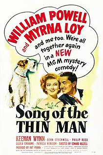 <i>Song of the Thin Man</i> 1947 film by Edward Buzzell