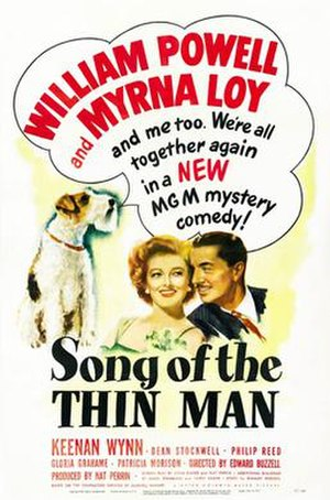 Song of the Thin Man - Theatrical Film Poster