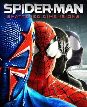 Spider-Man: Shattered Dimensions - Image: Spider Man Shattered Dimensions cover