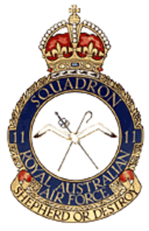 No. 11 Squadron RAAF - No. 11 Squadron's crest